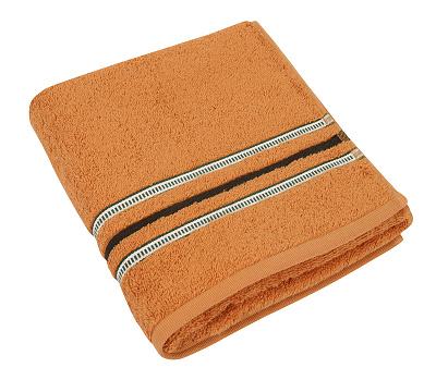 Froté ručník 530g 50x100 cm cihlová