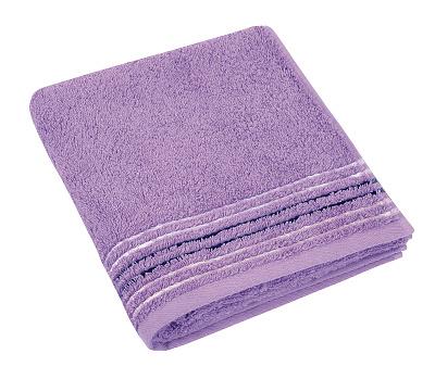 Froté ručník 530g 50x100 cm fialová