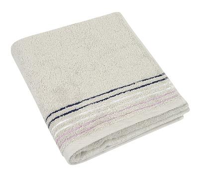 Froté ručník 530g 50x100 cm bílá káva