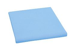 Plátěné prostěradlo 150x230 cm sv.modrá