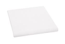 Plátěné prostěradlo 150x230 cm bílá