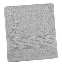 Froté ručník proužek 50x100 cm šedá