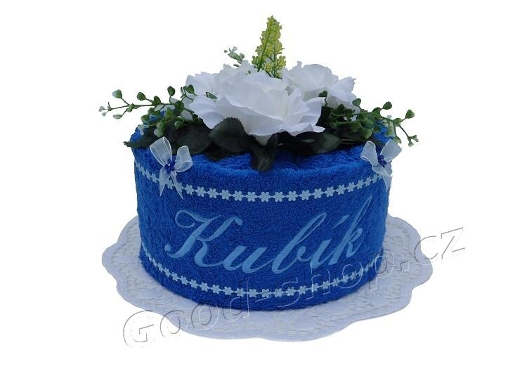 Froté dort se jménem 1patrový tmavě modrá