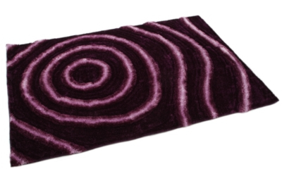 SHARON 3D KOBEREC fialový, 160x230 cm