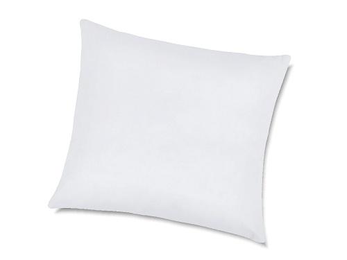 Polštářek výplňkový 40x40 cm bavlna bílá