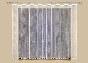 Záclona kusová KIMONA Šířka: 300 cm, Výška: 150 cm bílá