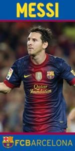 Osuška FC Barcelona - Messi 70x140 cm