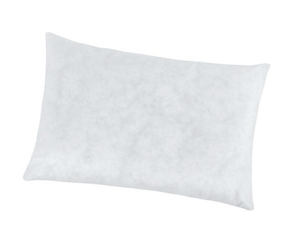 Polštář výplňkový 50x70 cm netkaná textilie - bílá