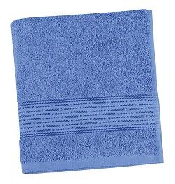 Froté ručník proužek 50x100 cm modrá