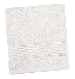 Froté ručník proužek 50x100 cm bílá