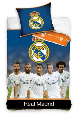 Povlečení Real Madrid Team 70x80,140x200 cm