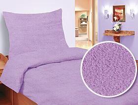 Povlečení mikrovlákno-mikroplyš 140x200,70x90 cm fialová