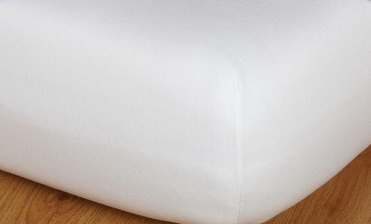 Prostěradlo jersey vysoká matrace 90x200 bílá