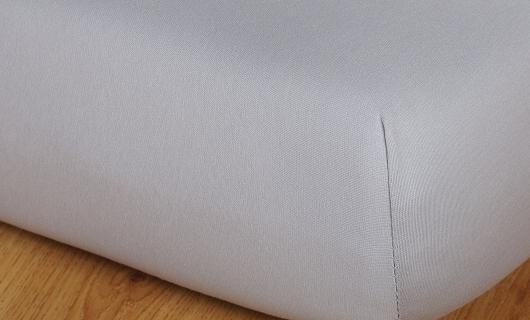 Prostěradlo jersey vysoká matrace 100x200 šedá