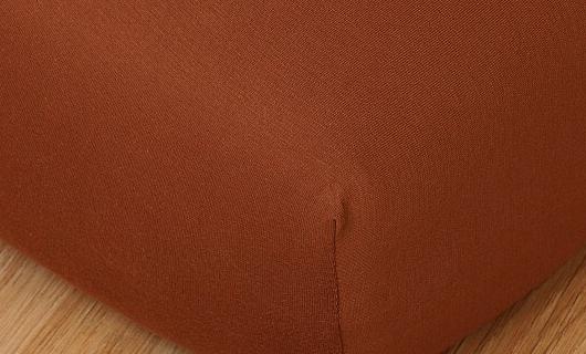 Prostěradlo jersey vysoká matrace 90x200 nugát