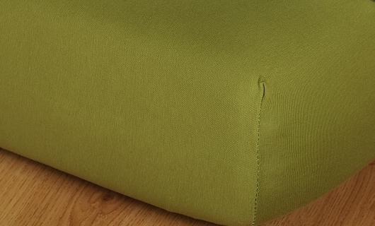Prostěradlo jersey vysoká matrace 90x200 olivová