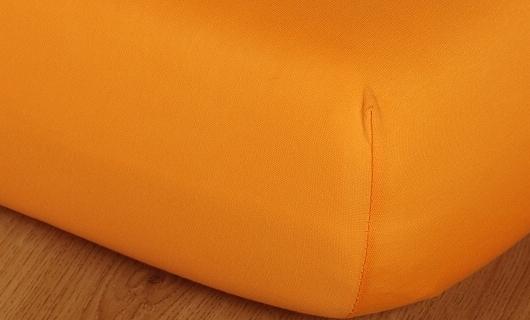 Prostěradlo jersey vysoká matrace 90x200 pomeranč