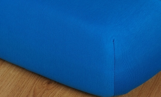 Prostěradlo jersey vysoká matrace 90x200 královská modř