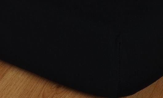 Prostěradlo jersey vysoká matrace 90x200 černá
