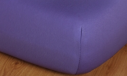 Prostěradlo jersey vysoká matrace 90x200 purpurová