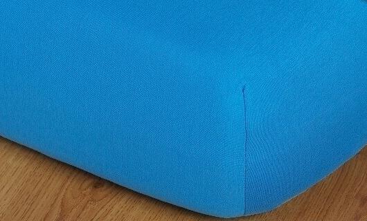 Prostěradlo jersey vysoká matrace 90x200 denim