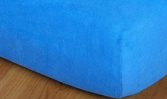 Prostěradlo froté na masážní lůžko 60x190 cm denim