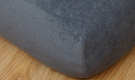 Prostěradlo froté 220g 90x200 cm tmavě šedá
