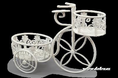 BICYKL kovová dekorace