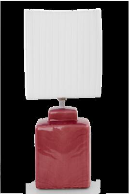 CUBE stolní lampa levandulová