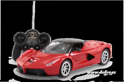 Sportovní auto bezdrátové ovládání červené