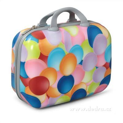 Kufr příruční větší colorful bubbles 37 x 17 x 30 cm