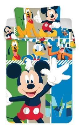 Disney povlečení do postýlky Mickey baby 100x135 + 40x60 cm