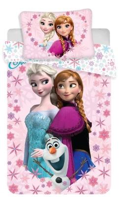Disney povlečení do postýlky Frozen baby 100x135 + 40x60 cm