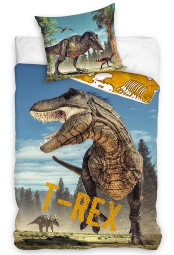 Dětské povlečení Tyranosaurus Rex 70x90, 140x200 cm