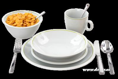 PRAKTIK 20 dílná porcelánová jídelní souprava pro 4 osoby