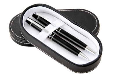 Dárkový set Matte kuličkového pera a propisovací tužky v dárkové krabičce