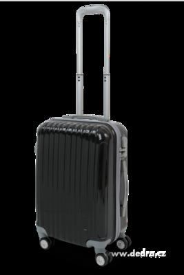 Skořepinový kufr,50 x 37 x 23 cm black
