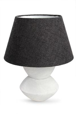 Keramická stolní lampa STONE
