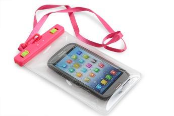 Ochranné pouzdro na mobil a osobní věci, růžové