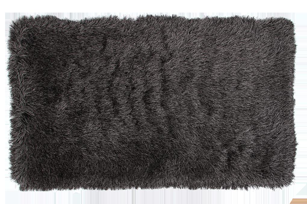9CM LONGHAIR KOBEREC šedo černý,200x300 cm