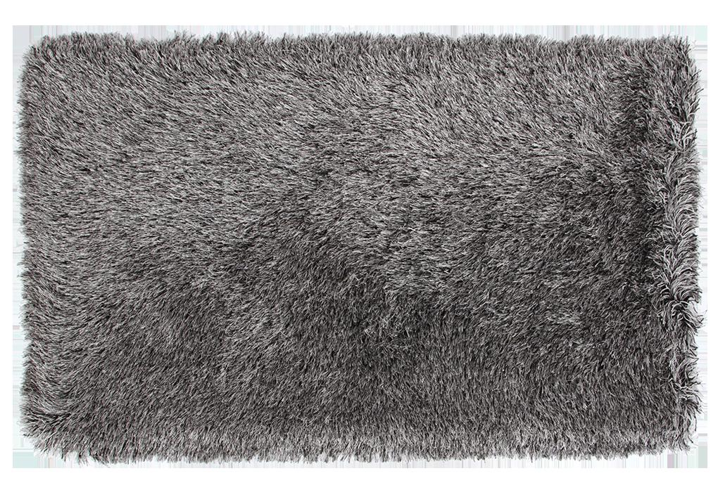 9CM LONGHAIR KOBEREC stříbno černý,140x200 cm