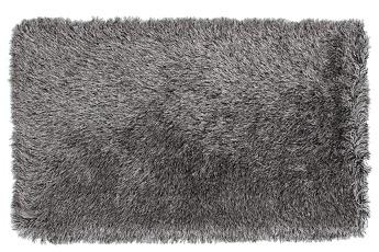 9CM LONGHAIR KOBEREC stříbrno černý,160x230 cm