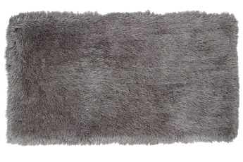 9CM LONGHAIR KOBEREC stříbrný,200x300 cm