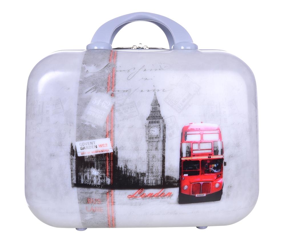 Kufr příruční větší LONDON BUS 37 x 17 x 30 cm