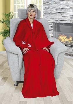 Televizní pytel Korall 150x180 cm červená