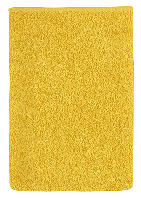 Froté žínka 17x25 cm žlutá