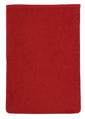 Froté žínka 17x25 cm červená