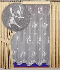 Záclona Marina výška 160 cm bílá