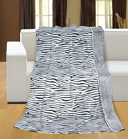 Deka RELIÉF MICRO 150 x 200 cm zebra