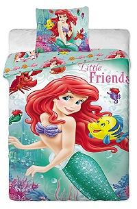 Povlečení Disney - Ariela 140x200,70x90 cm